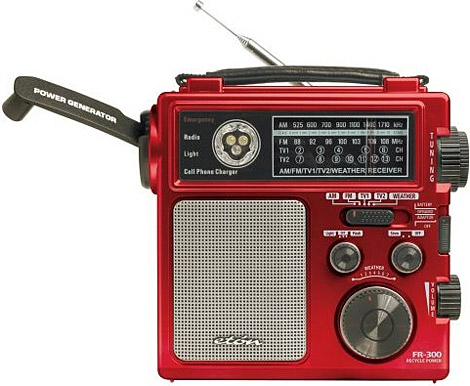 Eton Fr300 Emergency Crank Radio All Techno Blog