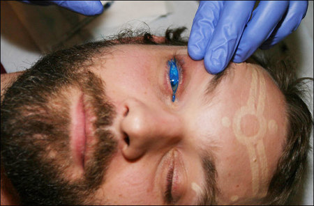 Have you ever thought to have your eyeballs tattooed?