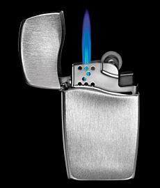 Now Finally 75 Years Old Classic Zippo Lighter Gets An Upgrade Instead Of The Normal Flame New Comes With Blue It Is Called Blu