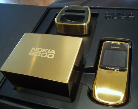 Gold Edition Nokia 8800 Phone
