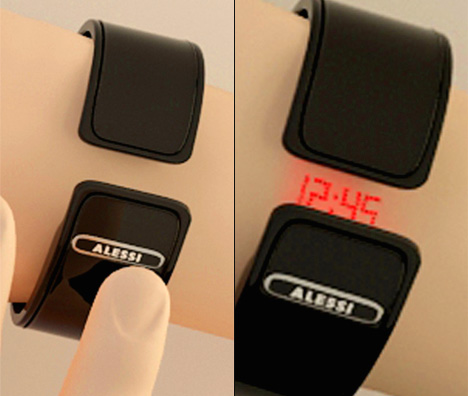 Invisible Shot Laser Watch