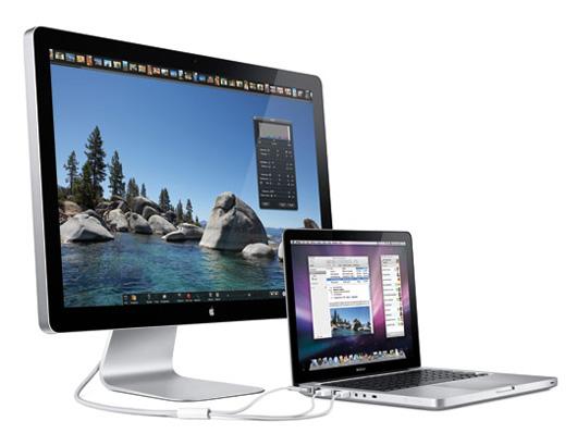 Macbook Pro & Cinema Screen
