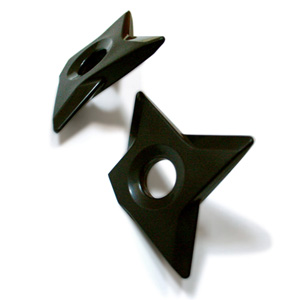 Secret Throwing Star Magnets