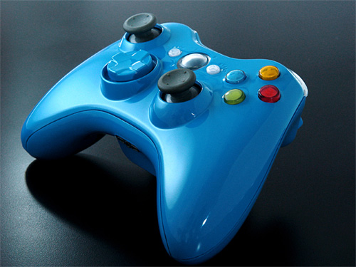 XCM Blue Blood: Xbox 360 Controller Shell