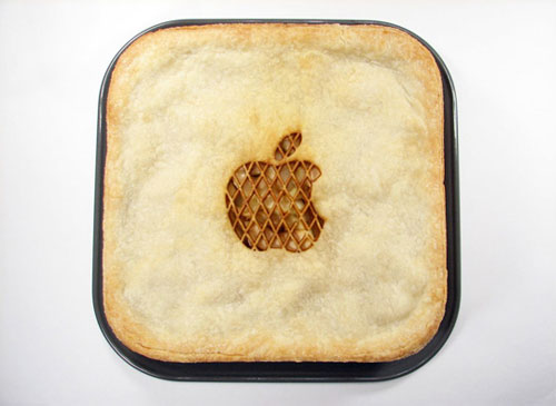 Apple Pie cake for geek