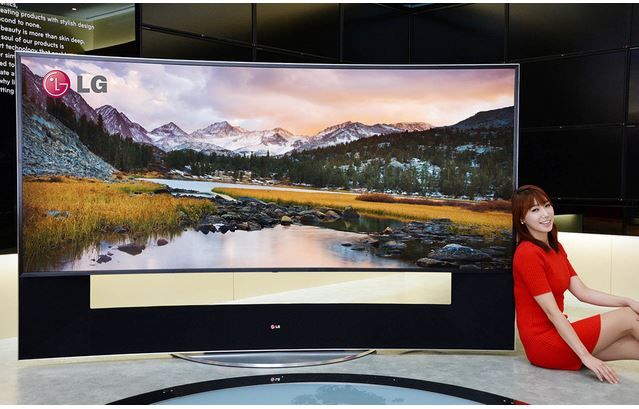 samsung and lg revealed 105 inch curved ultra hd televisions all techno blog technology blog. Black Bedroom Furniture Sets. Home Design Ideas