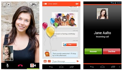 Tango - Android App to Make Free Video Calls