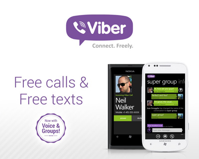 Viber - Android App to Make Free Video Calls