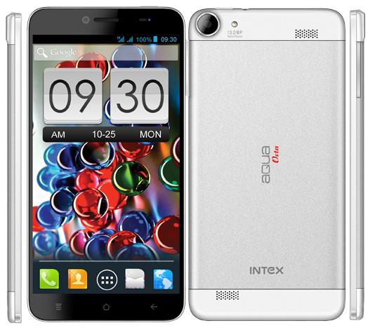 intex aqua octa smartphone