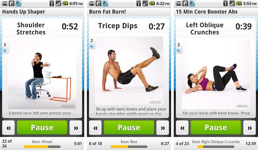 Workout-Trainner-app-for-Android