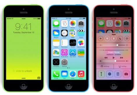 iPhone 5C pre-order