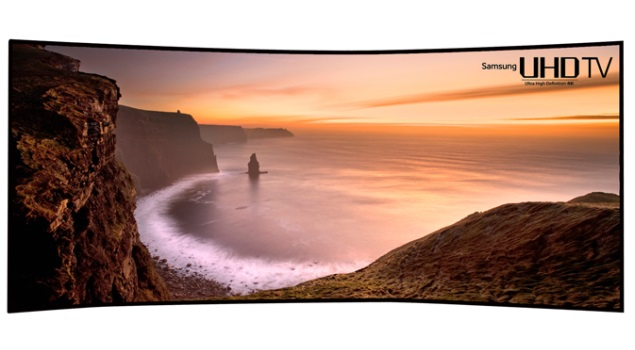 105-inch curved ultra hd tv