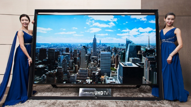 samsung 110-inch ultra HD-TV