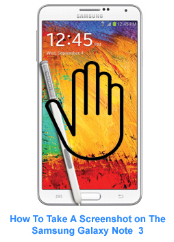 How to Take a Screenshot on Samsung Galaxy Note