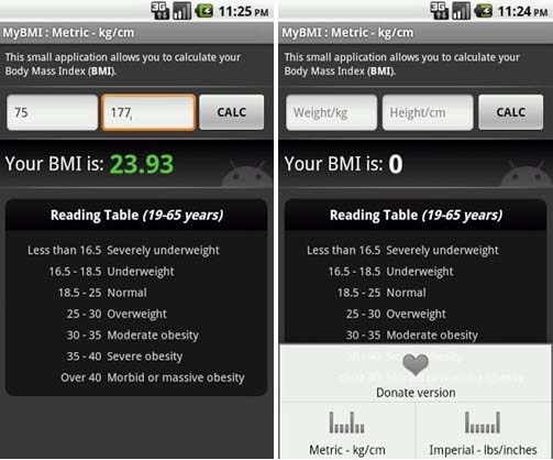 BMI-Calculator-app-for-Android